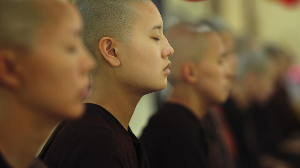 del silenzio della meditazione