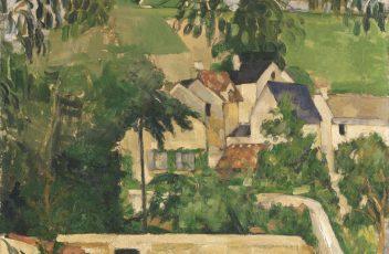 6. Paul Cézanne - Le Quartier du Four à Auvers-sur-Oise, ca. 187