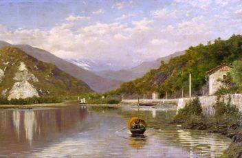 9. Gnecchi Fondo Toce (Lago Maggiore) 1884