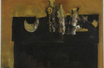 Mario Lattes - Cassettone - 1966 - in mostra a Monforte-bd