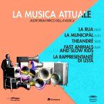 """""""La Musica Attuale"""" a Roma, Auditorium Parco della Musica."""