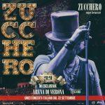 """ZUCCHERO """"SUGAR"""" FORNACIARI: nel 2020 il ritorno live con 10 concerti in esclusiva all'Arena di Verona (uniche date in Italia), dal 22 settembre."""