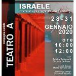 Cometa Off: ASCOLTA, ISRAELE, regia Valeria Freiberg, 28-31 GENNAIO