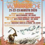 DAL 21 AL 23 AGOSTO 2020: 6° EDIZIONE DEL FESTIVAL PARADISO MUSICALE IN VALSAVARENCHE (AO)